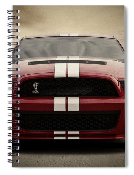 Cobra Red Spiral Notebook