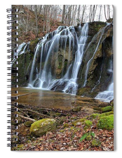 Cobweb Falls Spiral Notebook