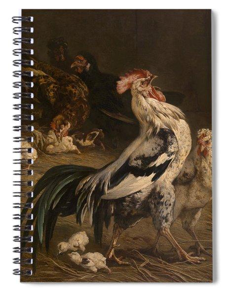 Cock Spiral Notebook