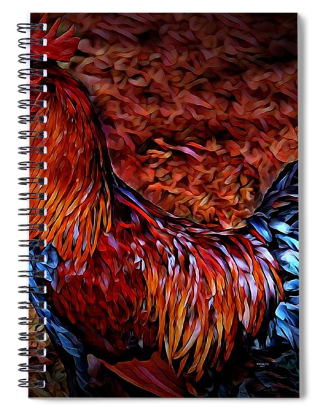 Cock Rooster Spiral Notebook