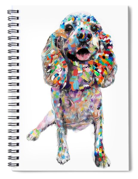 Cocker Spaniel Spiral Notebook