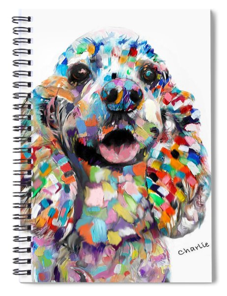 Cocker Spaniel Head Spiral Notebook