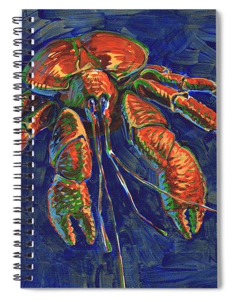 Coconut Crab Spiral Notebook
