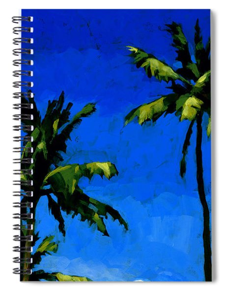 Coconut Palms 5 Spiral Notebook