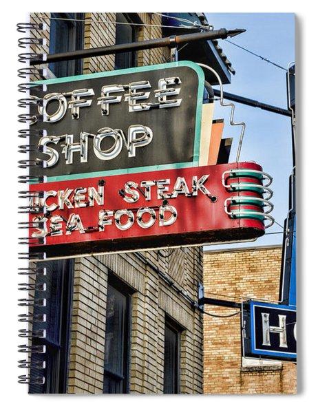 Coffee At The Lorraine Hotel Spiral Notebook