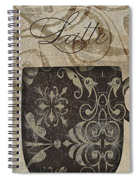 Coffee Flavors II Spiral Notebook