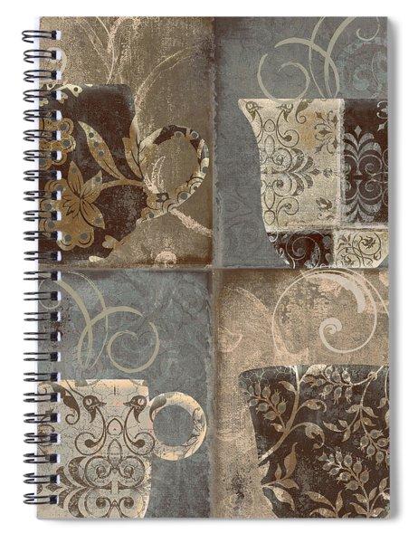 Coffee Flavors IIi Spiral Notebook