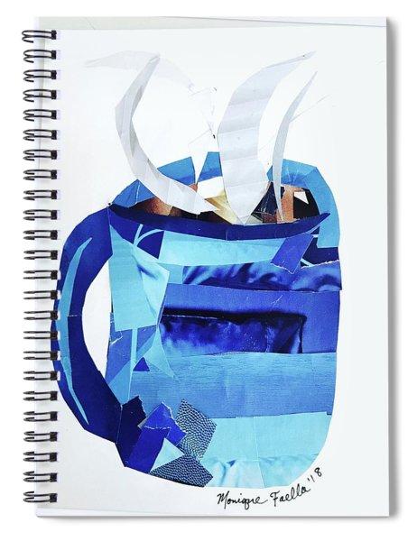 Coffee Mug Spiral Notebook