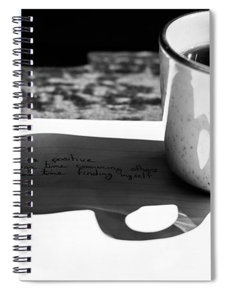 Coffee Poetry Spiral Notebook