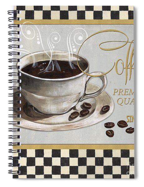 Coffee Shoppe 1 Spiral Notebook