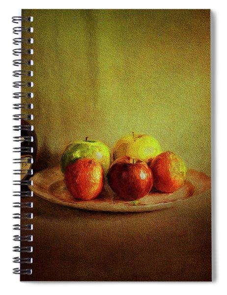 Cognac And Fruits Spiral Notebook
