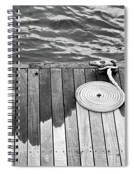 Coiled Rope Spiral Notebook