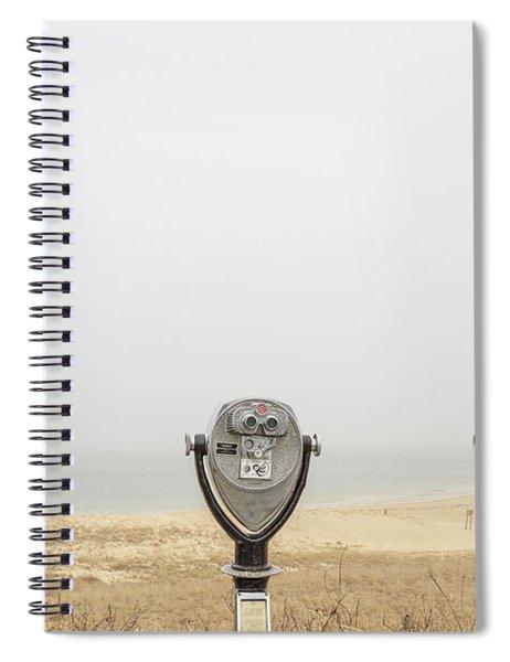 Coin Op Binoculars At A Beach Chatham Cape Cod Spiral Notebook
