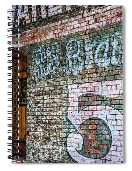 Coke And 5 Cent Cigars Spiral Notebook