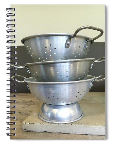 Colanders Spiral Notebook