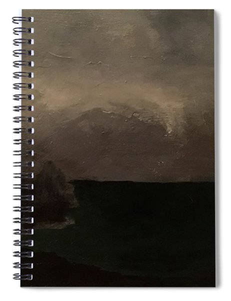 Cold Fog And Sea Spiral Notebook