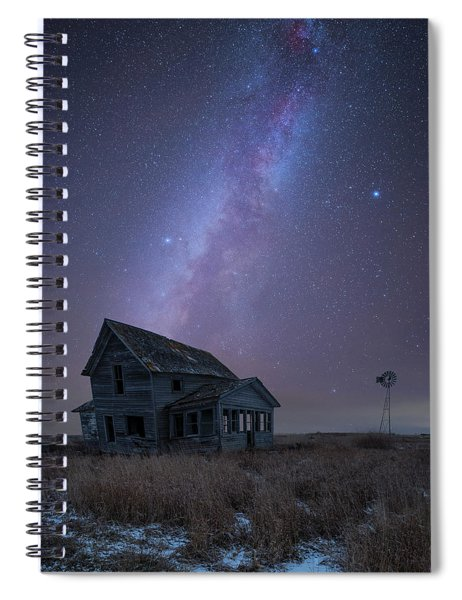 Cold Night  Spiral Notebook