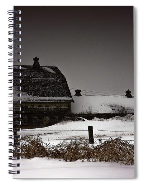 Cold Winter Night Spiral Notebook