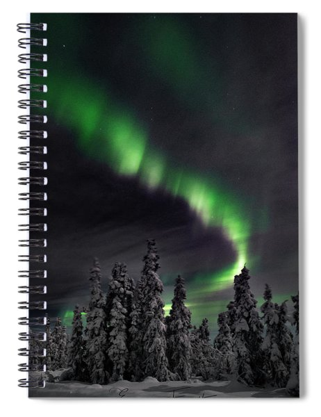 Cold Winter's Night Spiral Notebook