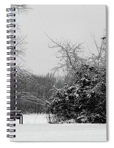 Coldness Spiral Notebook