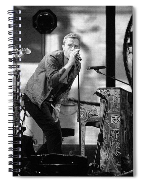 Coldplay 15 Spiral Notebook