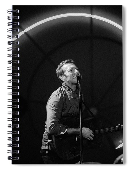 Coldplay11 Spiral Notebook