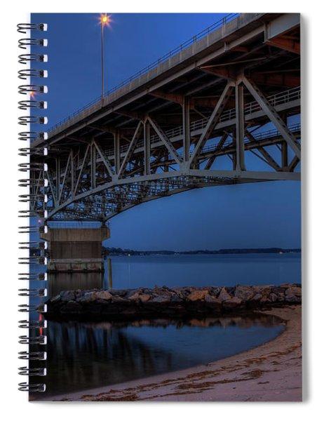 Coleman From The Beach Spiral Notebook