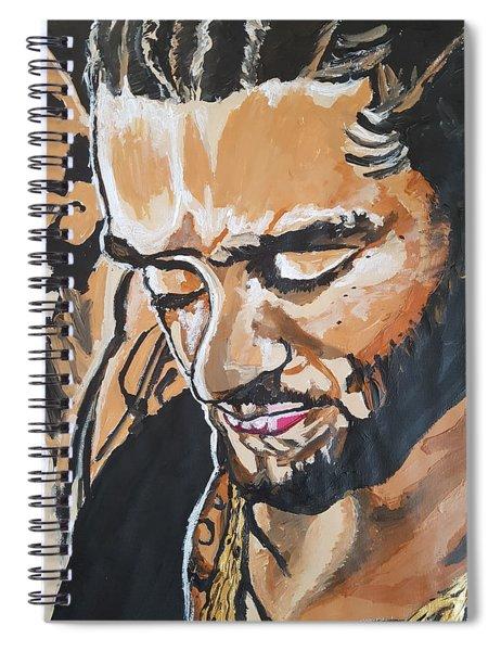 Colin Kaepernick Spiral Notebook