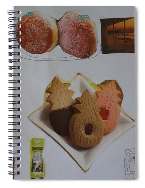 Collage Spiral Notebook