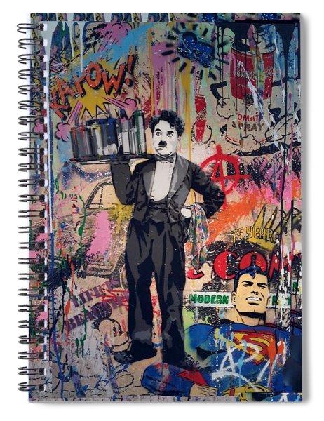Collageiscope  Spiral Notebook