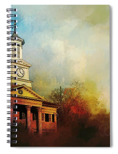 College Colors Spiral Notebook