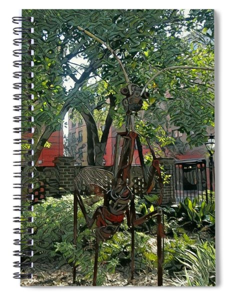 College Creature Spiral Notebook
