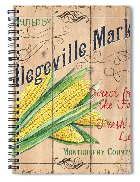 Collegeville Market Spiral Notebook