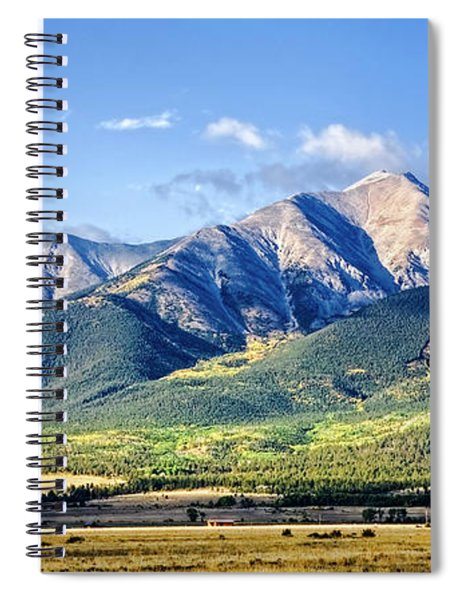 Collegiate Range Spiral Notebook