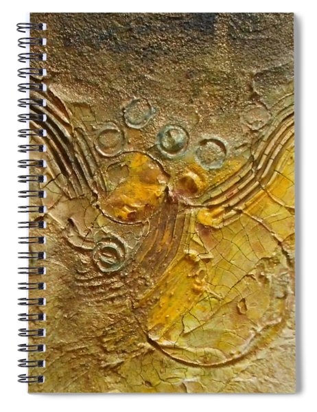 Colliding Worlds Spiral Notebook