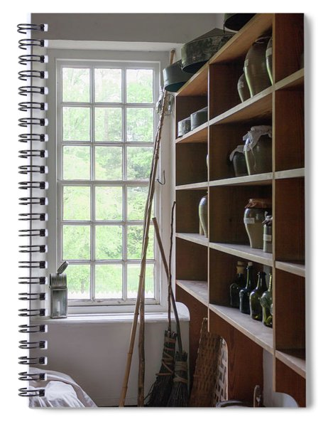 Colonial Kitchen Pantry Spiral Notebook