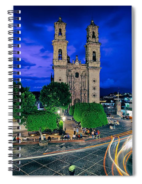 Colonial Town Of Taxco, Mexico Spiral Notebook