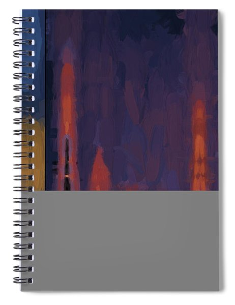 Color Abstraction Lii Spiral Notebook