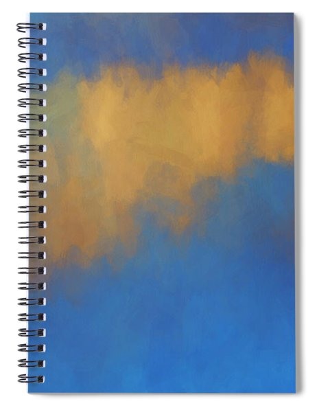 Color Abstraction Lvi Spiral Notebook