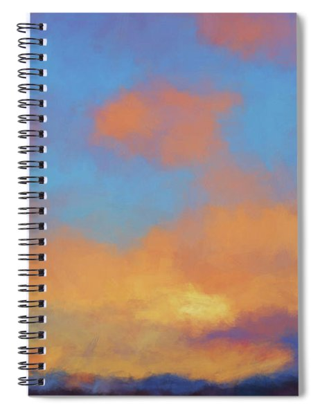 Color Abstraction Lvii Spiral Notebook
