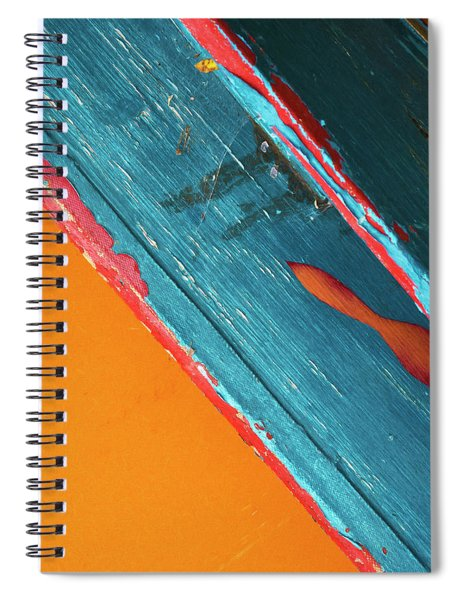 Color Abstraction Lxii Sq Spiral Notebook