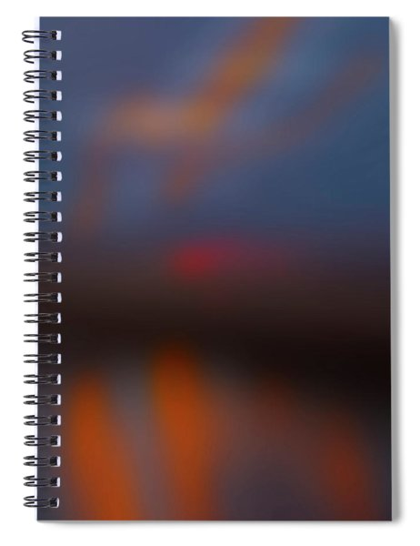 Color Abstraction Lxiii Sq Spiral Notebook