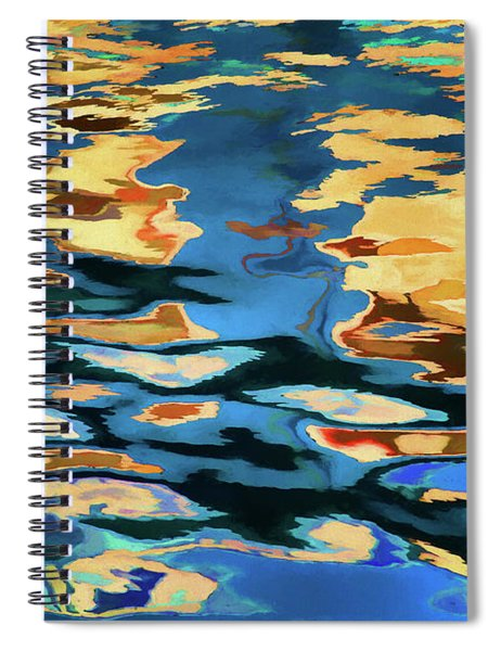 Color Abstraction Lxix Spiral Notebook
