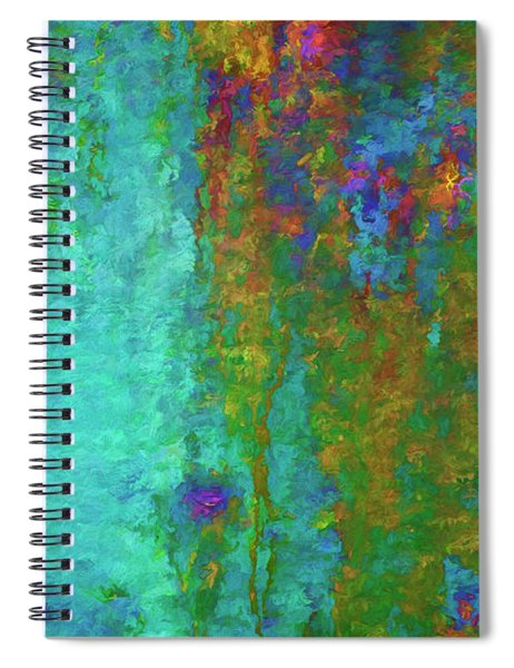 Color Abstraction Lxvii Spiral Notebook