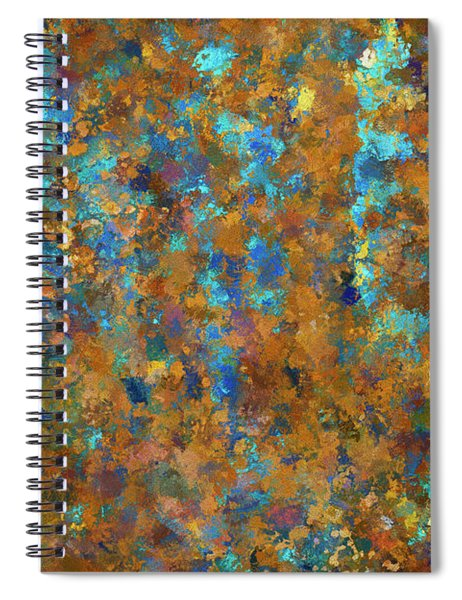 Color Abstraction Lxxiv Spiral Notebook