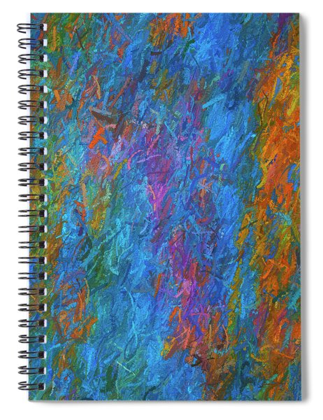 Color Abstraction Xiv Spiral Notebook