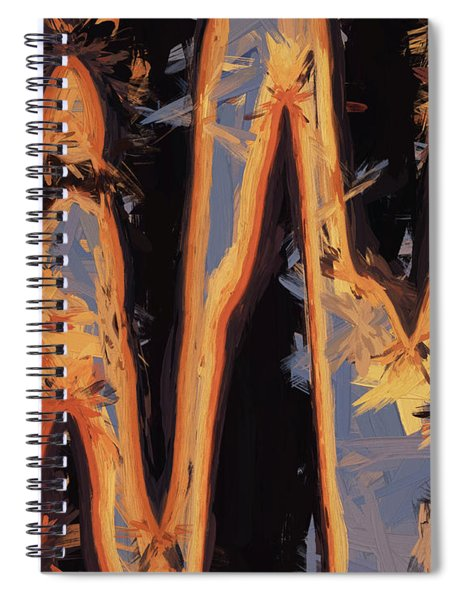 Color Abstraction Xli Spiral Notebook