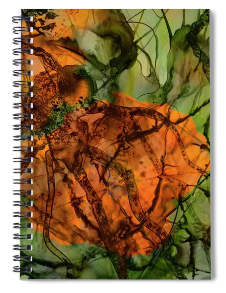 Color Abstraction Xx Spiral Notebook