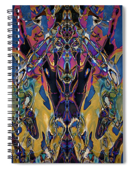 Color Abstraction Xxi Spiral Notebook