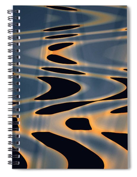 Color Abstraction Xxiv  Spiral Notebook